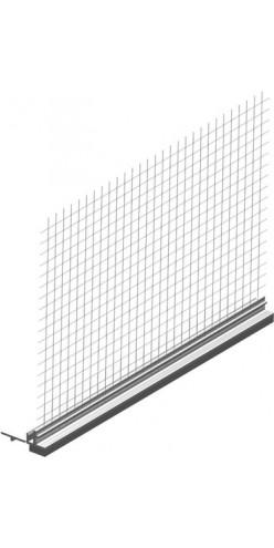 Примыкающий профиль с армирующей сеткой